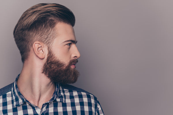 styling beard with beard filler