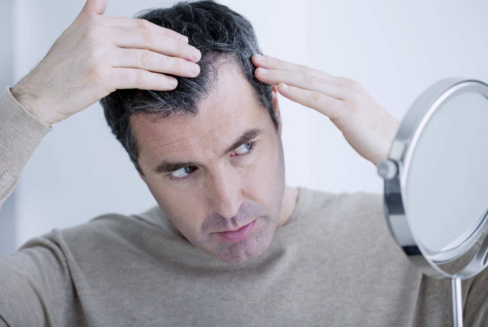 how to fix thinning hair male