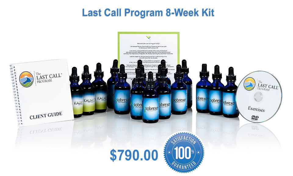 The Last Call Program. Our 8-Week, 14-Piece Solution to Help You With Your Drinking