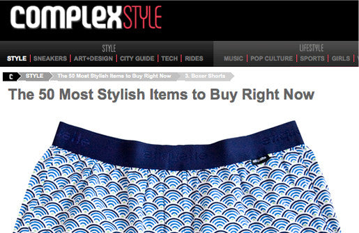 COMPLEX'S MOST STYLISH