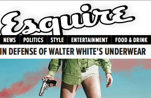 IN DEFENSE OF WALTER WHITE'S UNDERWEAR