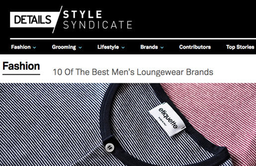 DETAILS BEST MEN'S LOUNGEWEAR BRANDS