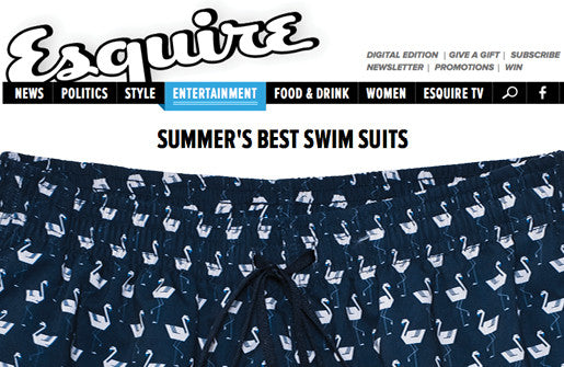 ESQUIRE: BEST SWIM TRUNKS