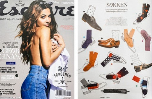 Esquire: All about socks