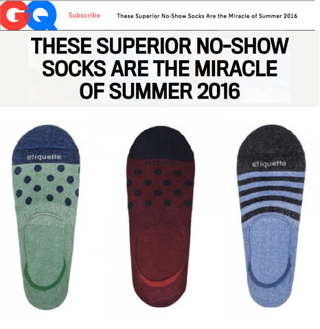 These Superior No-Show Socks Are the Miracle of Summer 2016