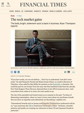 FT: The Sock Market Gains