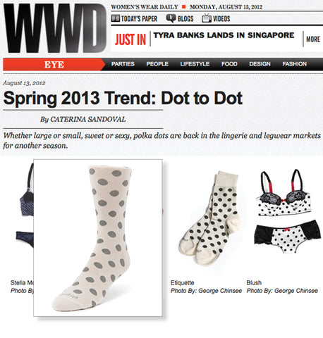 WWD ON THE DOT