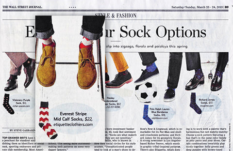 EXERCISE YOUR SOCK OPTIONS