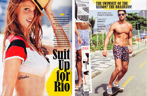 GQ: SUIT UP FOR RIO