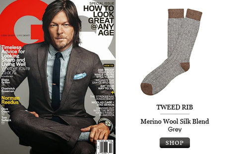 NORMAN REEDUS IN TWEED