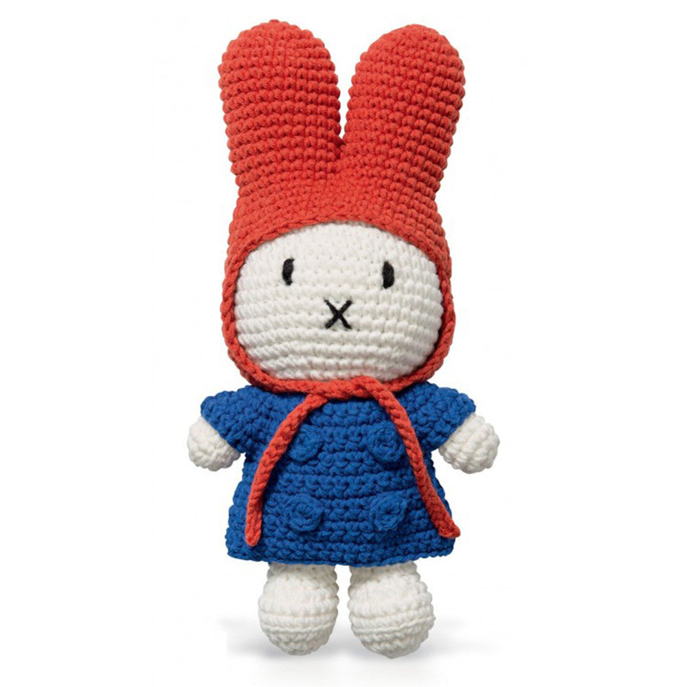Blue Jacket & Red Hood Doll - Miffy Handmade - Miffy Club - Etiquette - Etiquette Clothiers NA