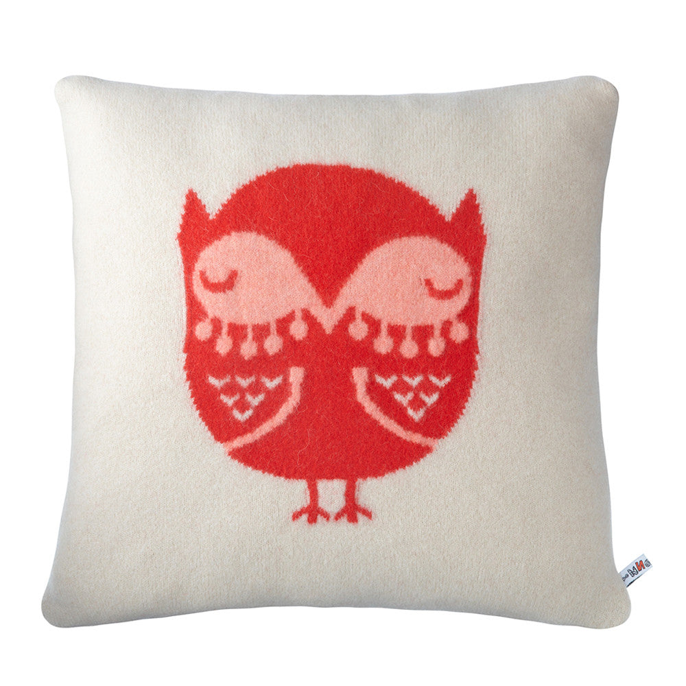 Owl Cushion - Donna Wilson - Accessories - Etiquette - Etiquette Clothiers NA