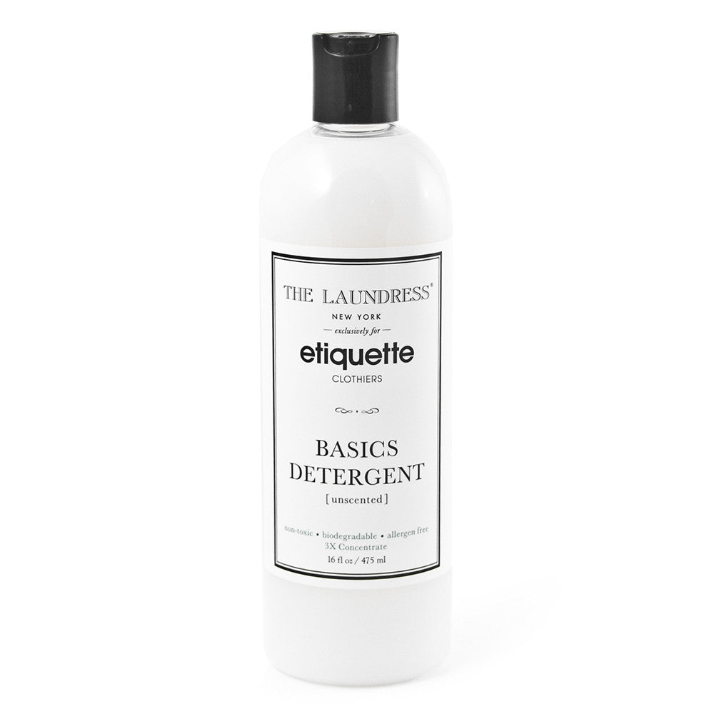 Etiquette x The Laundress - Basics Detergent - Underwear - EtiquetteSale - Etiquette Clothiers NA