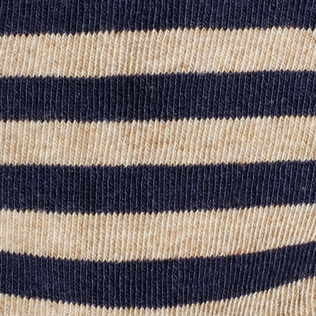 Abbey Stripes - Vintage Blue - Kids Socks - Etiquette - Etiquette Clothiers NA