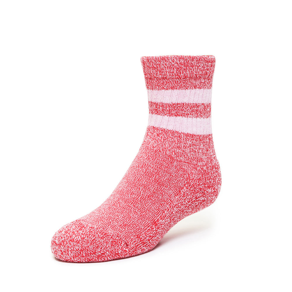 Terry Boot Socks - Red