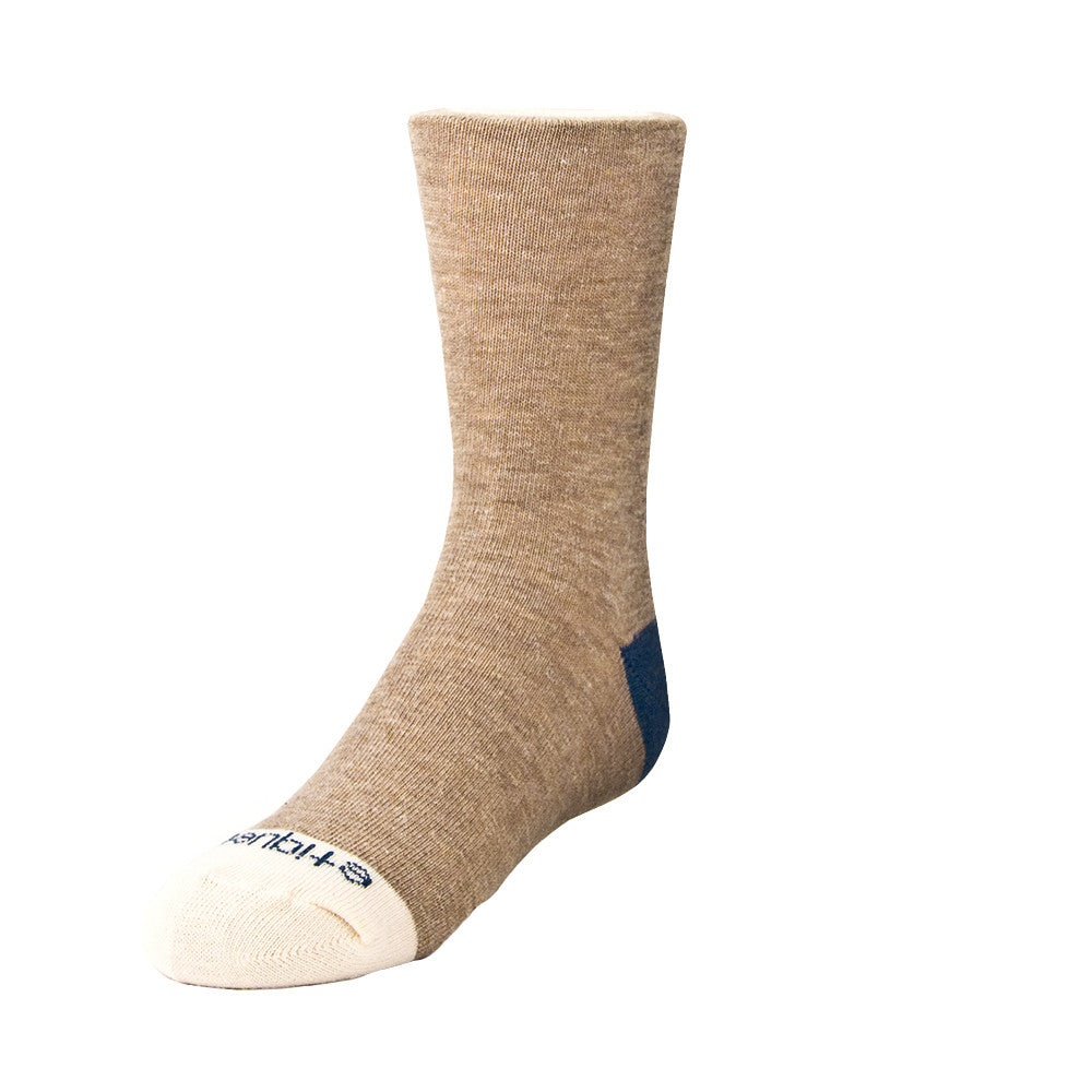 Tri Pop - Vintage Brown Heather - Kids Socks - EtiquetteSale - Etiquette Clothiers NA