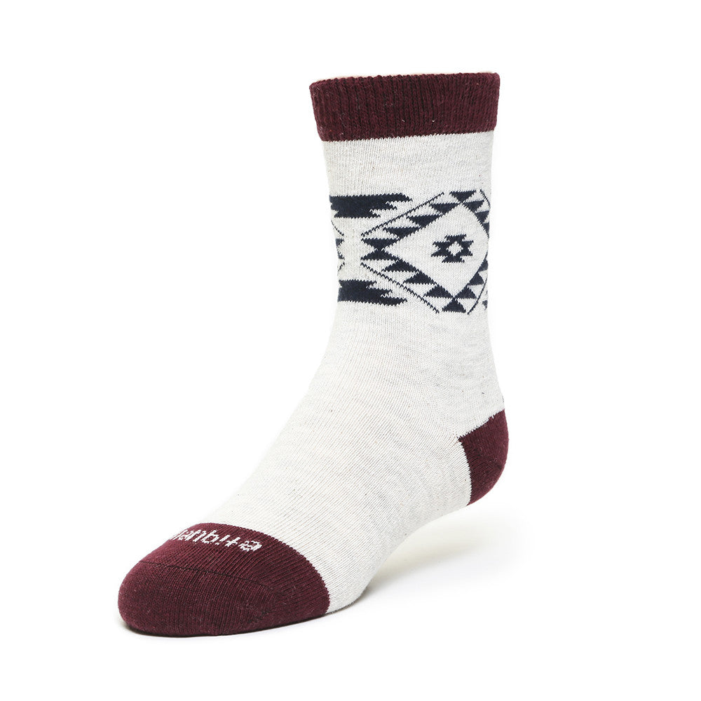 Tribal - Vintage Grey Heather - Kids Socks - Etiquette - Etiquette Clothiers NA