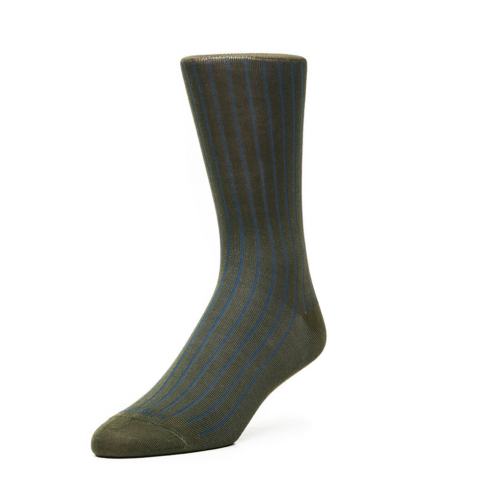 Royal Rib - Green - Socks - Etiquette - Etiquette Clothiers NA