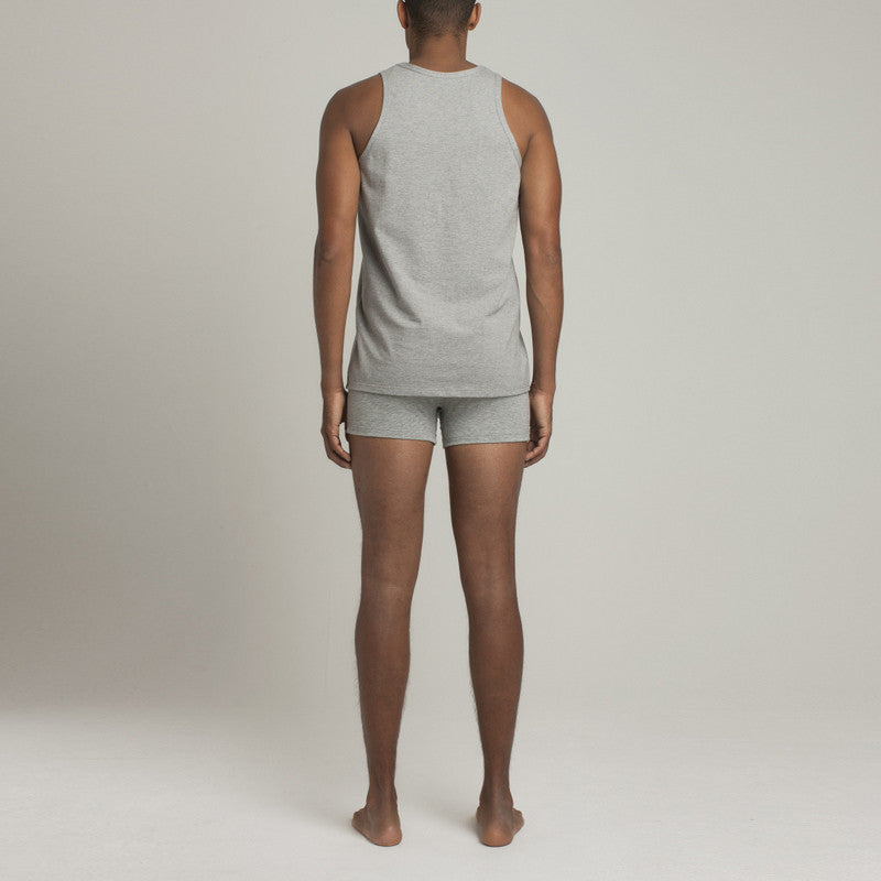 Bowery Tank Top - Steel Grey