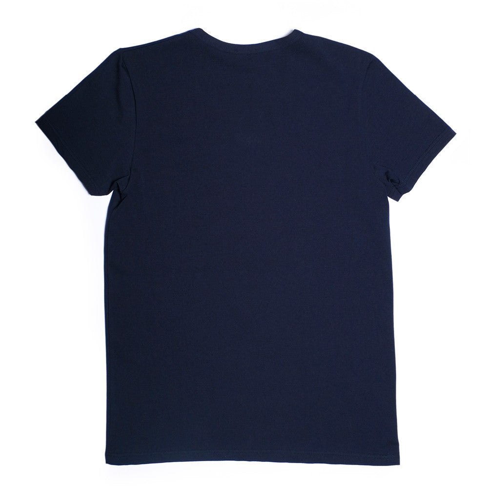 Mulberry V Neck - Charlotte Blue