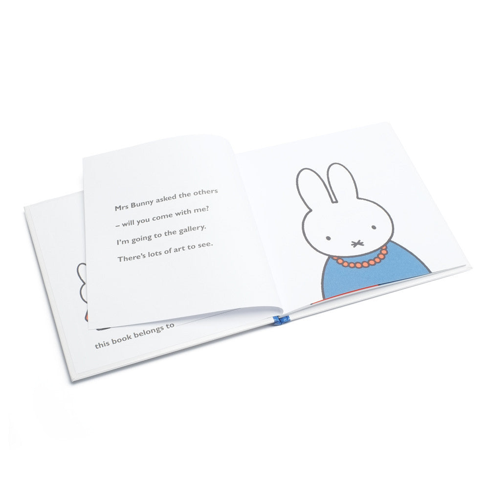 Miffy At The Gallery - Miffy Book - Miffy Club - Etiquette - Etiquette Clothiers NA