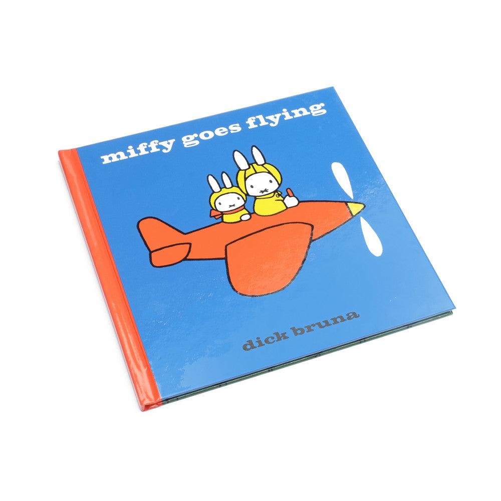 Miffy Goes Flying - Miffy Book - Miffy Club - Etiquette - Etiquette Clothiers NA