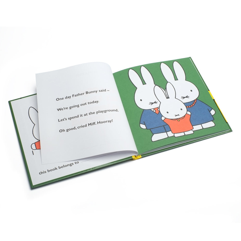 Miffy At The Playground - Miffy Book - Miffy Club - Etiquette - Etiquette Clothiers NA