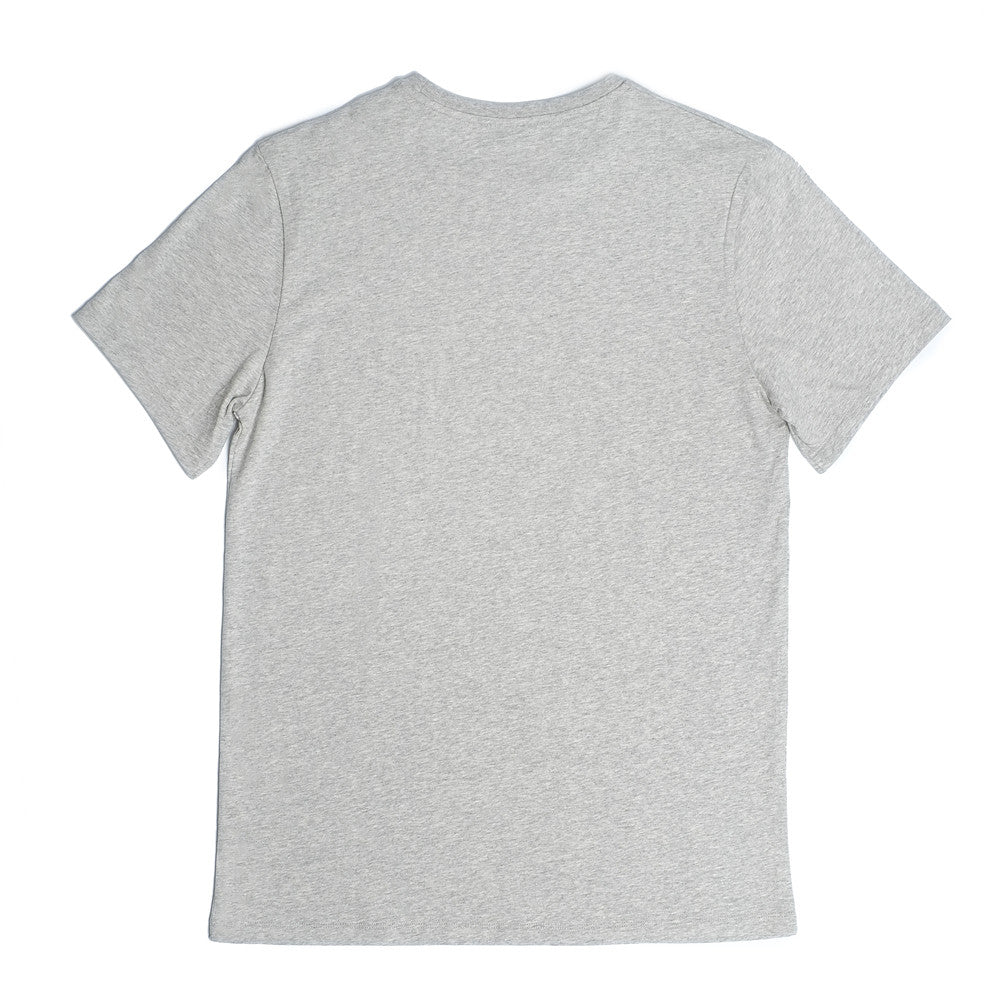 Bedford Crew Neck T  'Keep It Light' - Grey Melange - Loungewear - Etiquette - Etiquette Clothiers NA