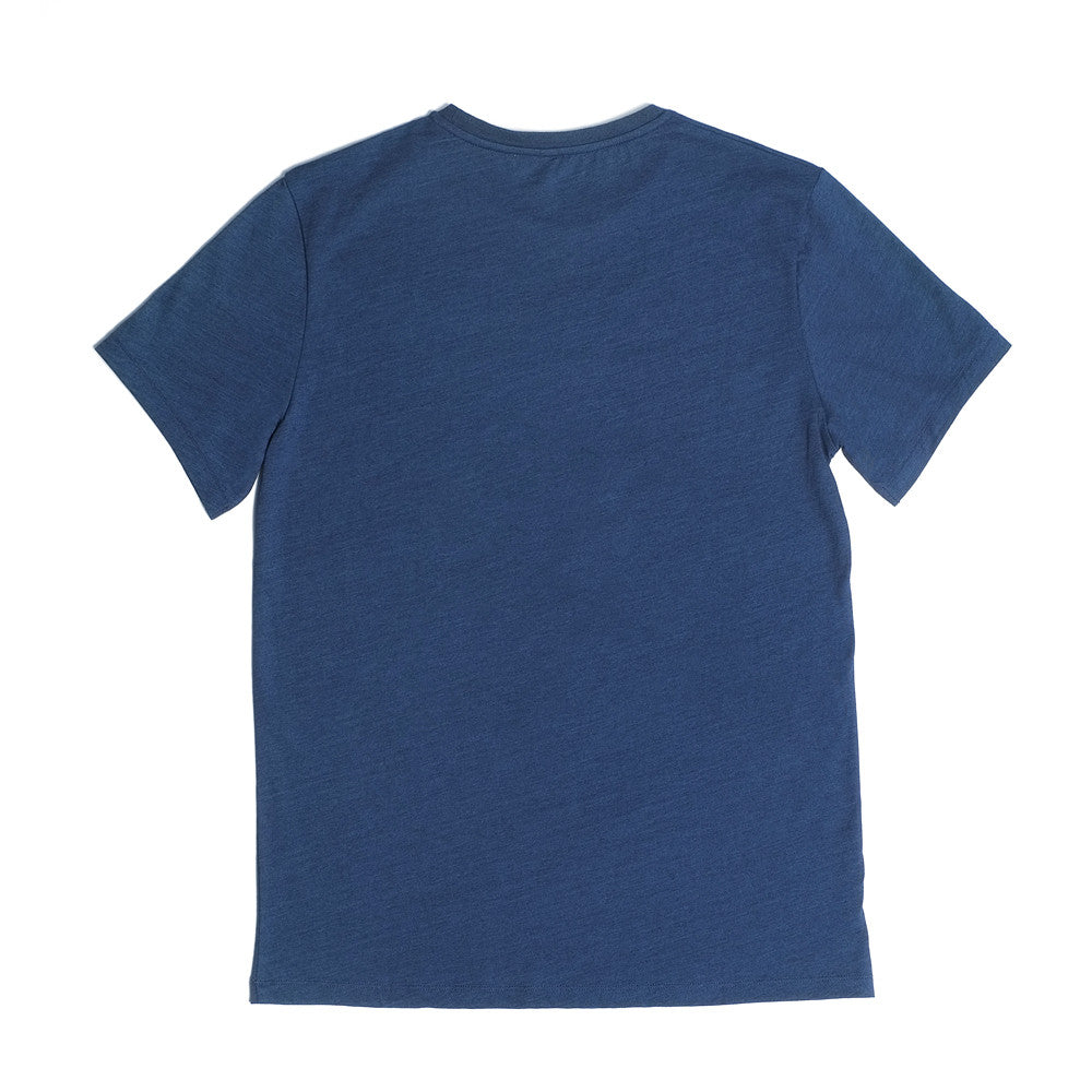 Bedford Crew Neck T  'Just For One Day' - Indigo Dye - Loungewear - Etiquette - Etiquette Clothiers NA