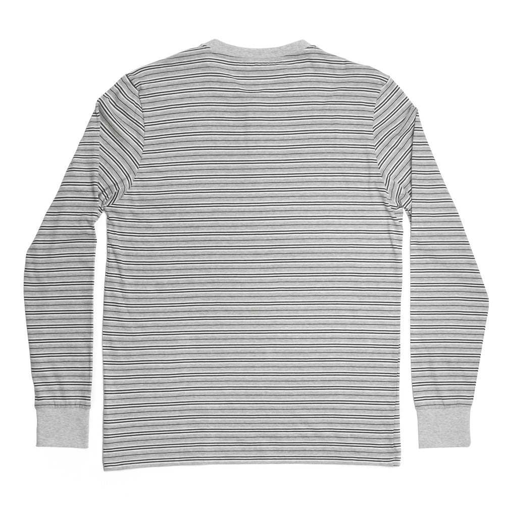 George Henley Crewneck Long Sleeve - Grey