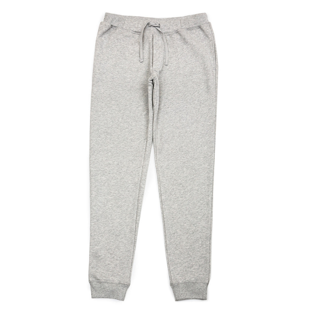 Barrow Loop Terry Sweatpants - Grey Melange - Loungewear - Etiquette - Etiquette Clothiers NA