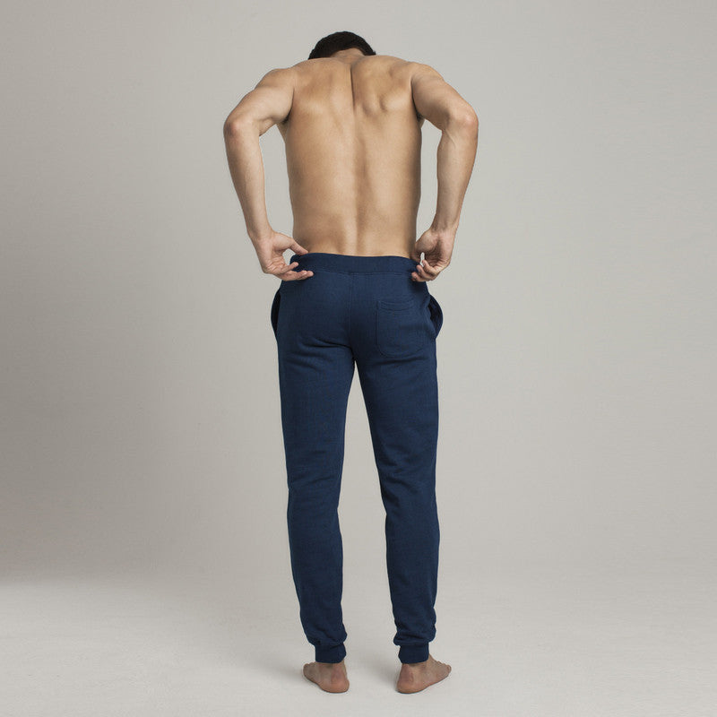 Barrow Loop Terry Sweatpants - Indigo Dye - Loungewear - Etiquette - Etiquette Clothiers NA