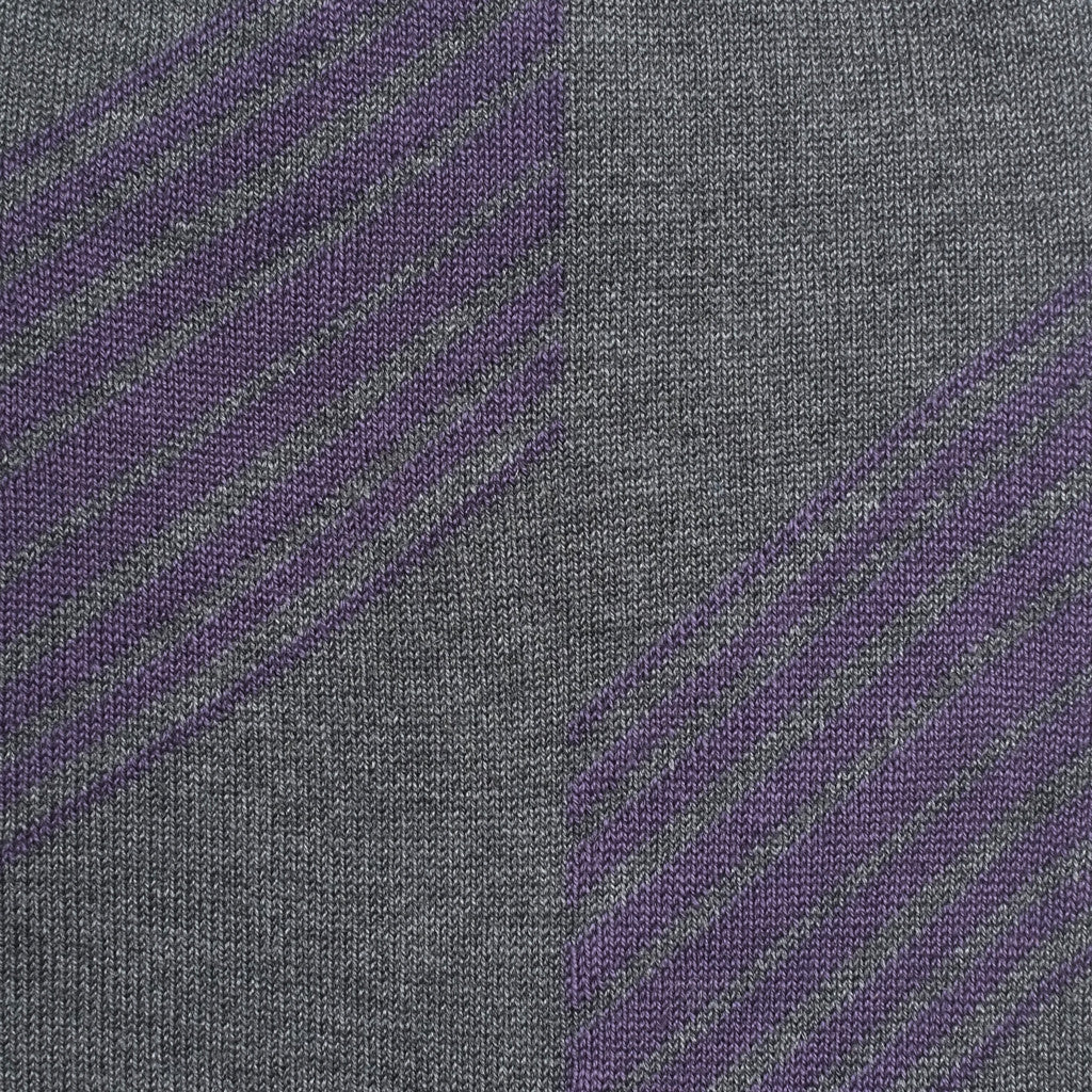 Shanghai Stripes - Dark Grey