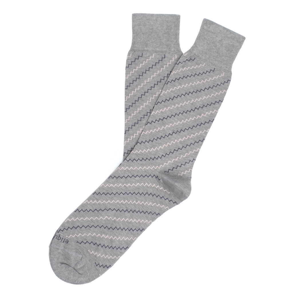 Step it up - Grey - Socks - Etiquette - Etiquette Clothiers NA