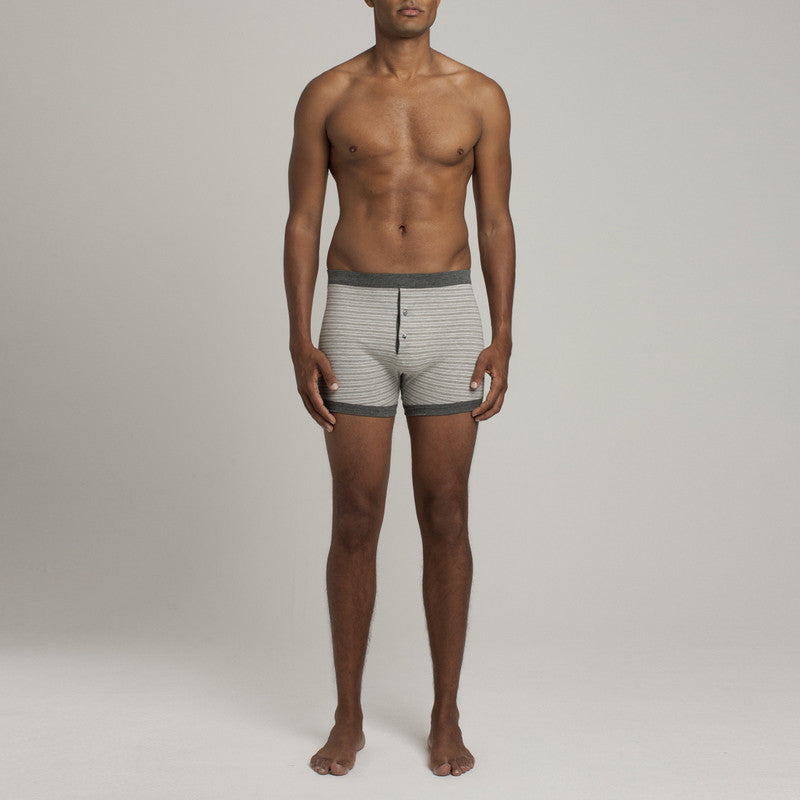 Grand Trunk - Heather Grey/Navy - Underwear - Etiquette - Etiquette Clothiers NA