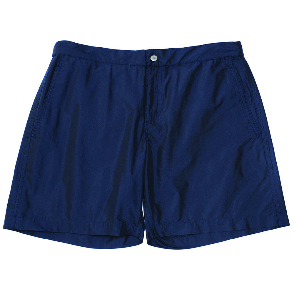 The Ariston Board Short - Dark Blue - Swimwear - Etiquette - Etiquette Clothiers NA