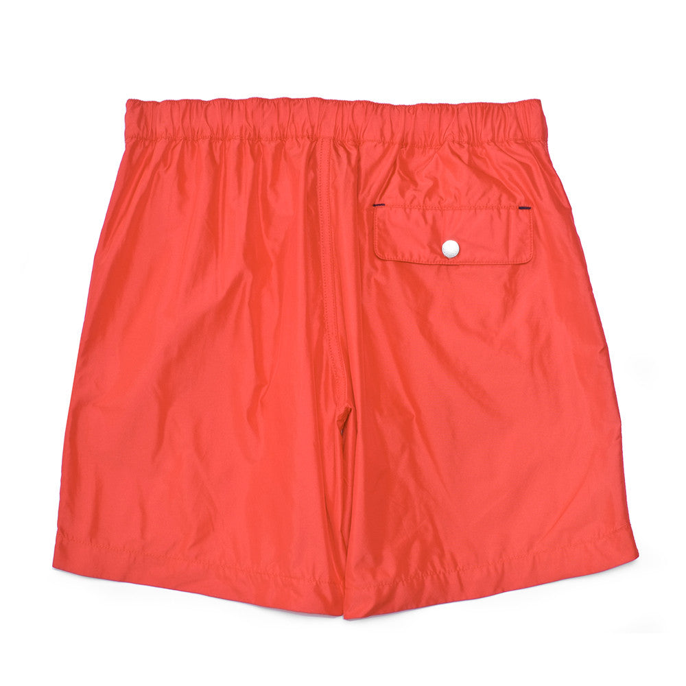 The Ariston Board Short - Red - Swimwear - Etiquette - Etiquette Clothiers NA