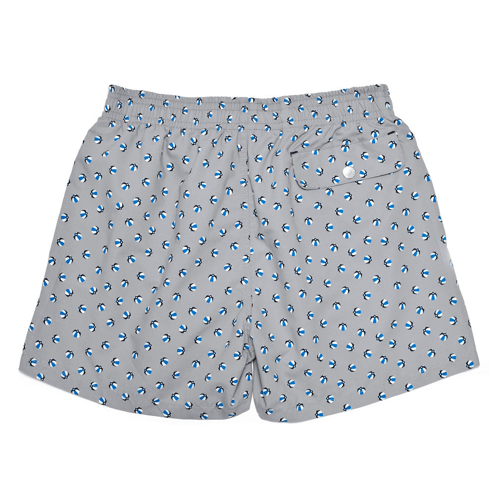 The Corsaro Swim Trunk Balls - Grey - Swimwear - Etiquette - Etiquette Clothiers NA
