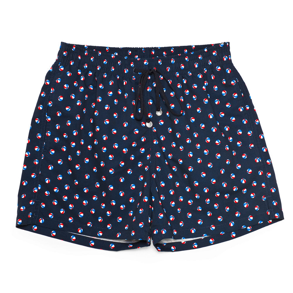 The Corsaro Swim Trunk Balls - Dark Blue - Swimwear - Etiquette - Etiquette Clothiers NA