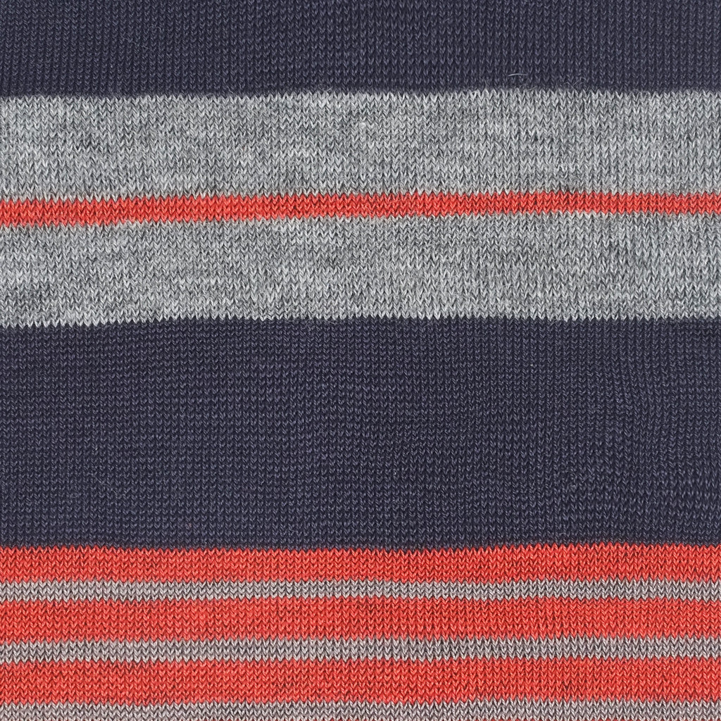 Amsterdam Stripes - Blue Moon - Socks - Etiquette - Etiquette Clothiers NA