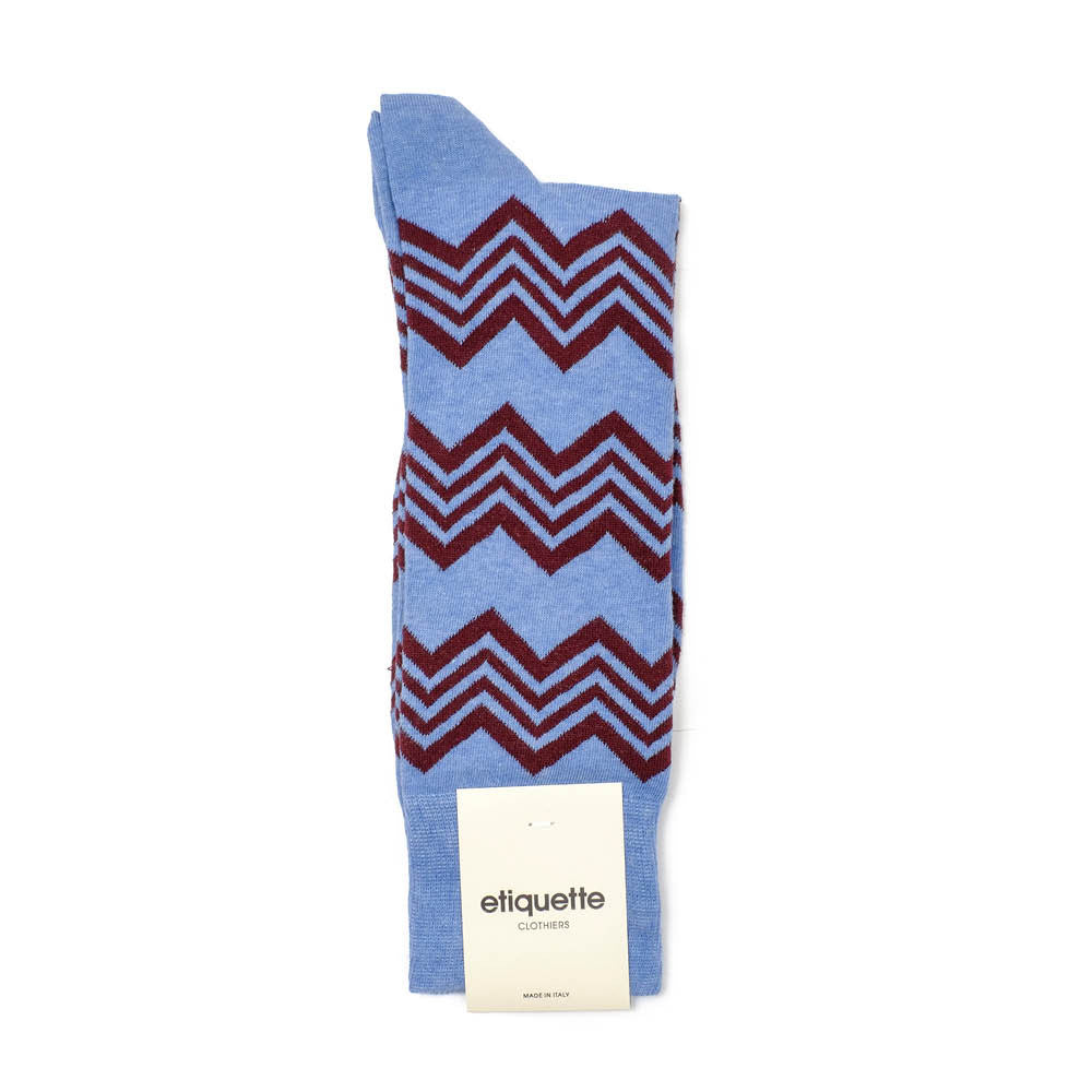 Alpine Stripes - Everest Blue
