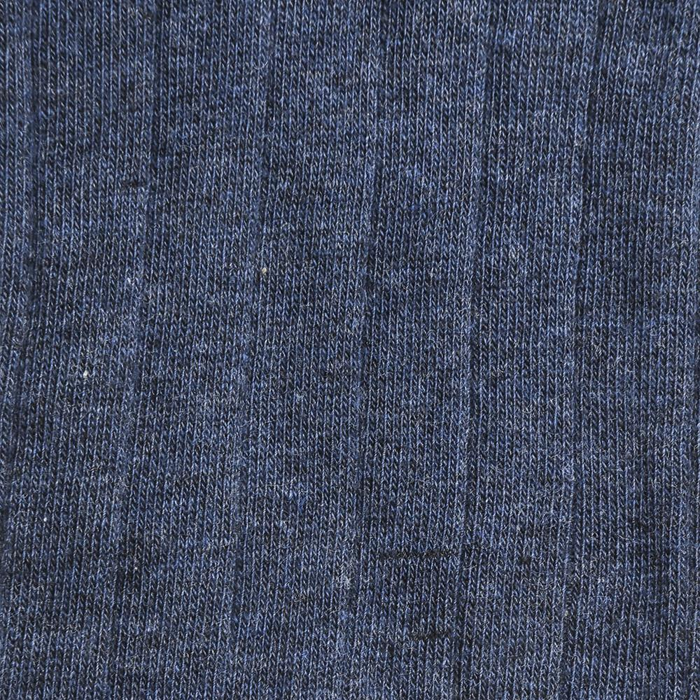 The Classic Rib - Vintage Blue Heather