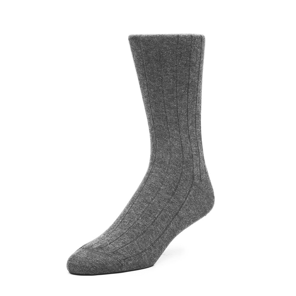 The Classic Rib - Dark Grey - Socks - Etiquette - Etiquette Clothiers NA