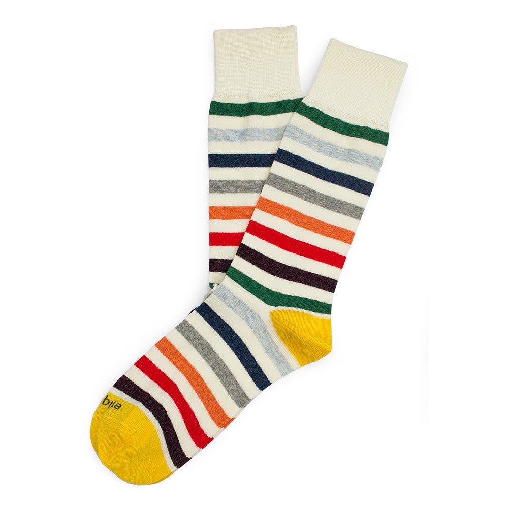 East River Stripes - Multi - Socks - Etiquette - Etiquette Clothiers NA