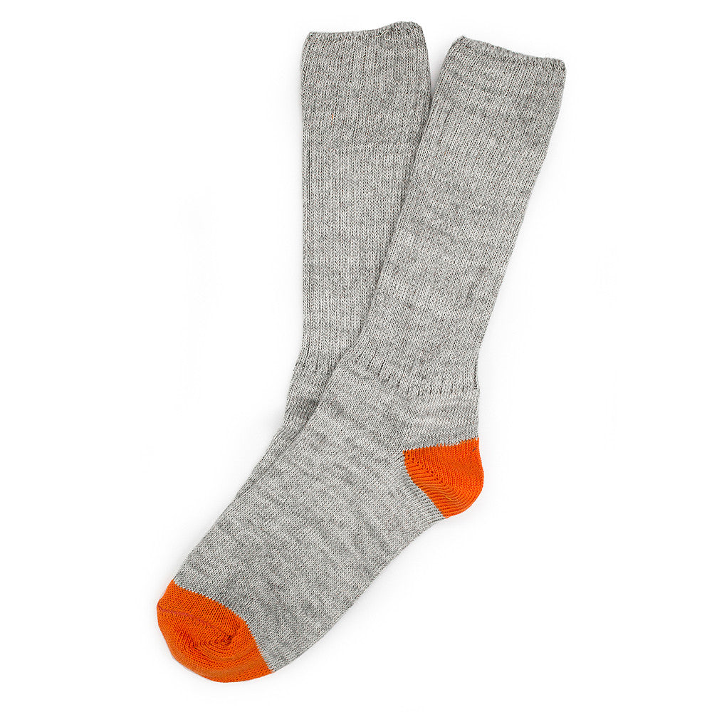 Roppongi Socks - Twisted Grey