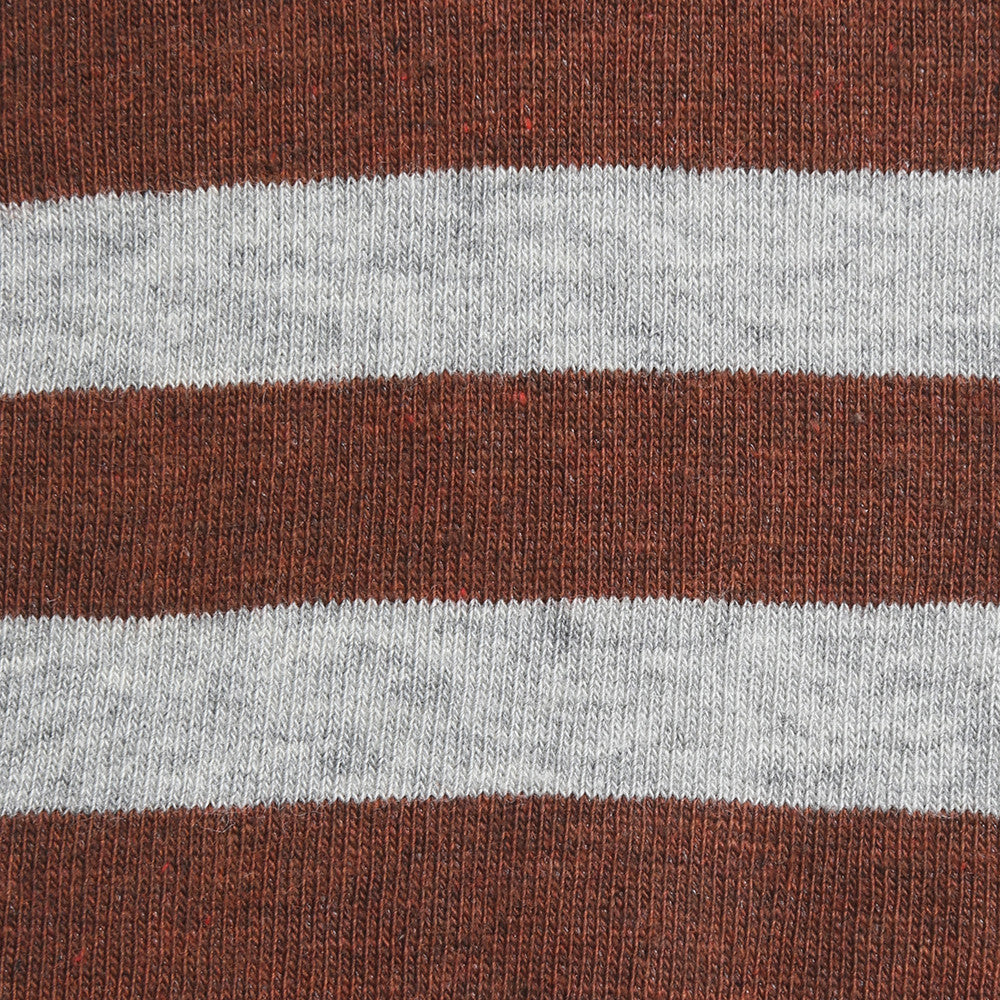 Rugby Stripes - Rust
