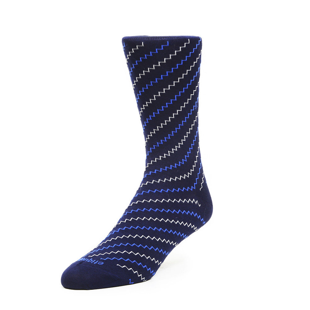 Step It Up - Navy - Socks - Etiquette - Etiquette Clothiers NA