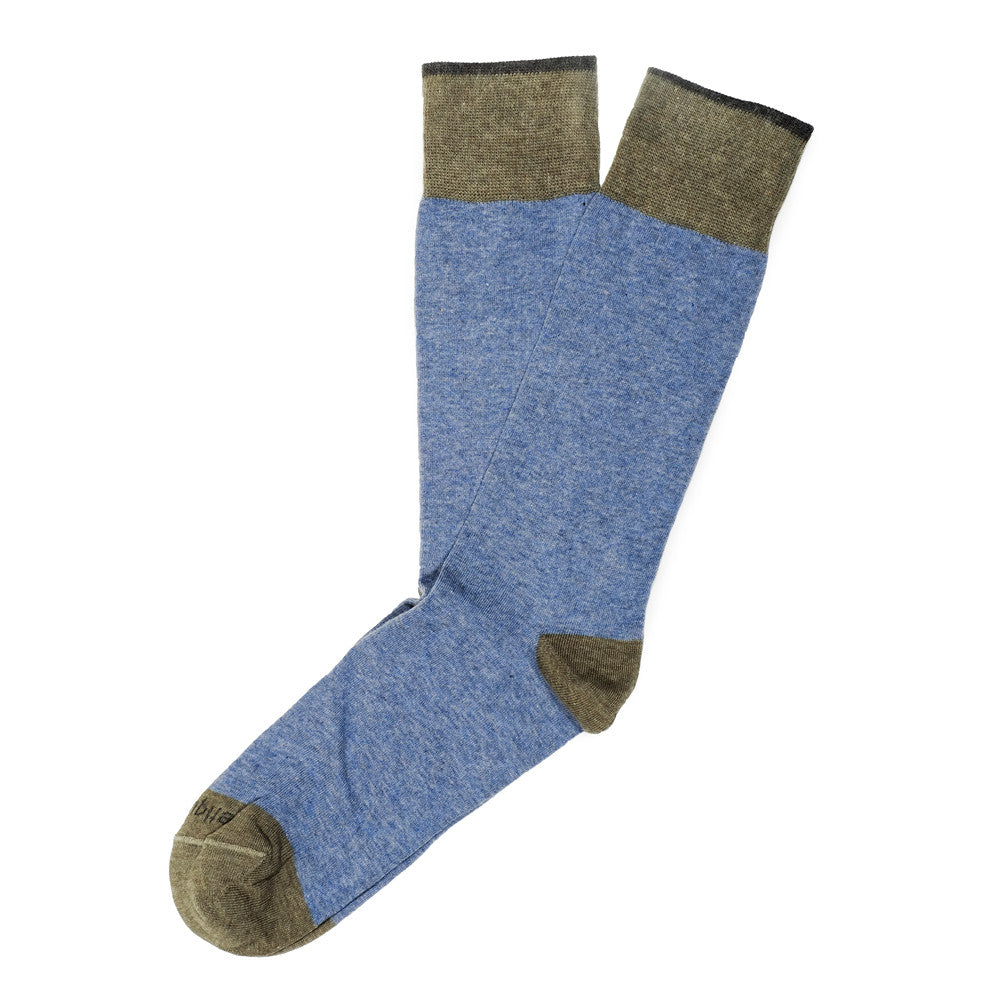 Tri Pop - Blue - Socks - EtiquetteSale - Etiquette Clothiers NA