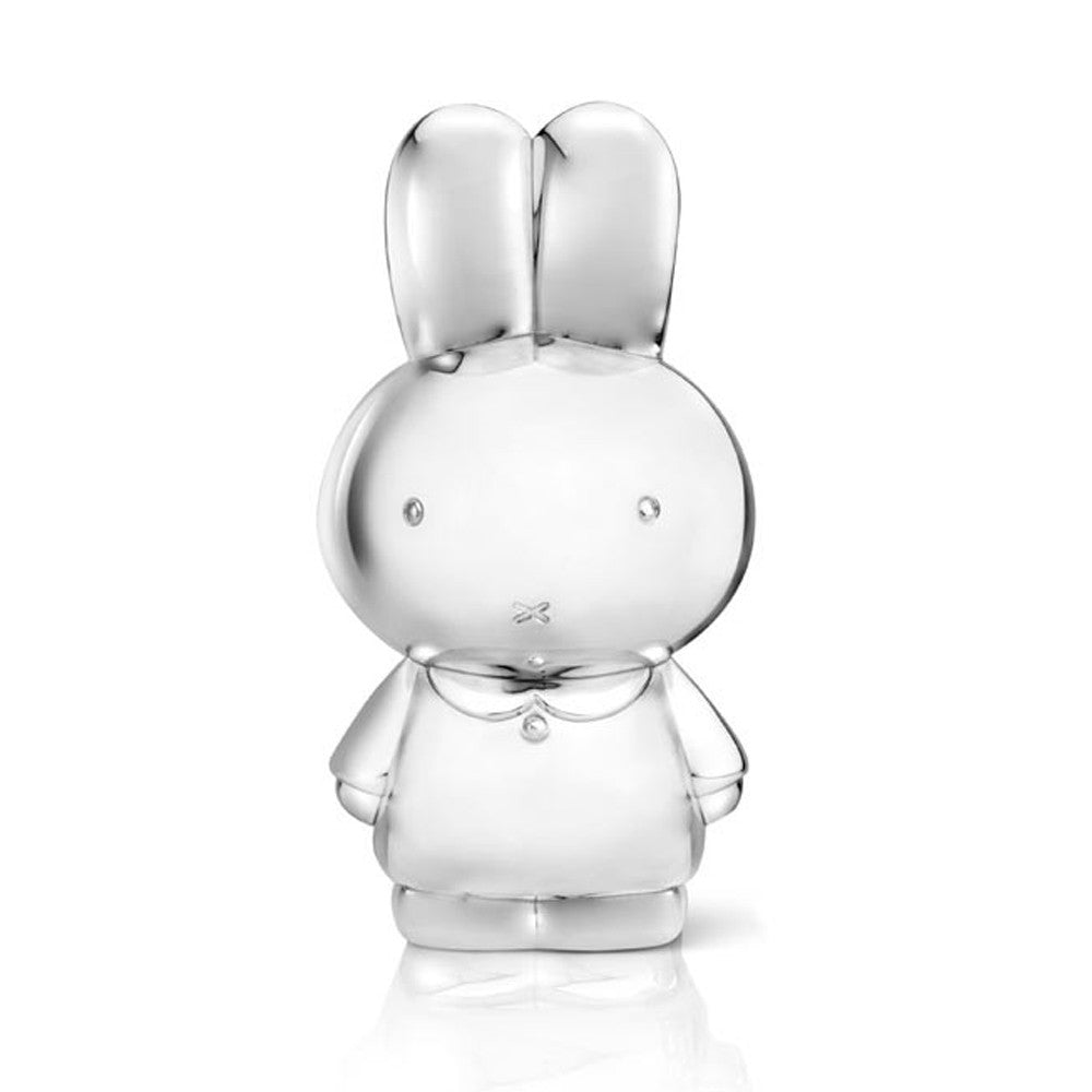Money Box XL - Miffy Zilverstad - Miffy Club - Etiquette - Etiquette Clothiers NA