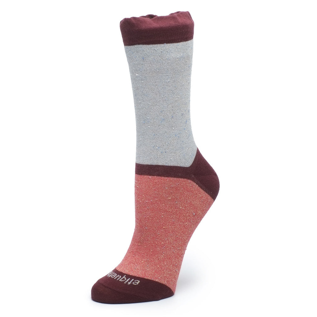 Charming Trio - Metallic Red / Grey - Socks - Etiquette - Etiquette Clothiers NA
